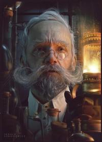 LooksLikeGoodDesignLooks like good 3D portrait by Pawel Rebisz