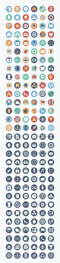 Beautiful Flat Icons – Download 180 Free And Open Source Variations | Elegant Themes Blog