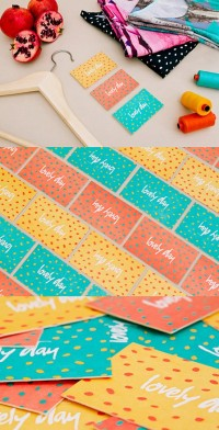 Colorful Identity Cards | Business Cards | The Design Inspiration