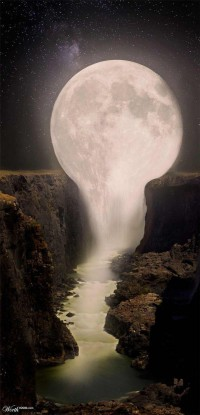 Moon Falls is located on the Moon River, just ... | Flirting With Life