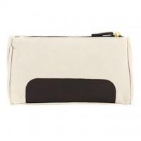 1pcs White Storage Pure Cotton Cosmetic Bag - makeupsuperdeal.com