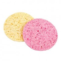 2PCS Facial Cleansing Sponge - makeupsuperdeal.com
