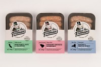Packaging / Abe Froman's Sausage  The Dieline — Designspiration