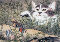 Through the Sapphire Sky: Animals, ghosts and Y?kai depicted in Ukiyo-e