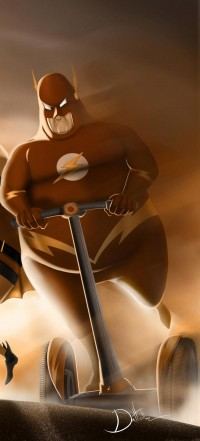 Fat Superheroes - Qroyo