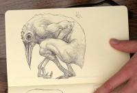 Moleskine Sketchbook #01 on