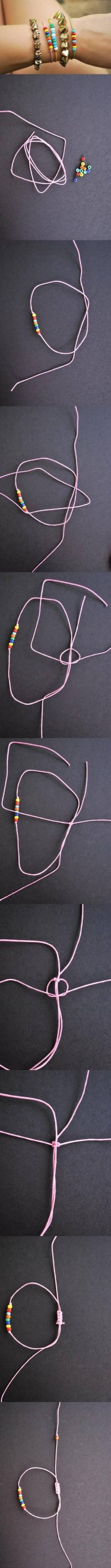 DIY Rainbow Beads and Bracelets | UsefulDIY.com