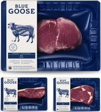 New Logo, Identity, and Packaging for Blue Goose Pure Foods by Sid Lee — Designspiration