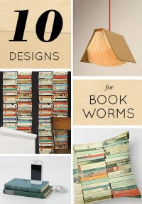 10 Beautiful Book-Inspired Designs + Our Favorite Reads Right Now | Design*Sponge