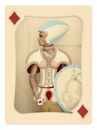 Beautiful, Whimsical Photos Of Playing Cards Featuring Human Models - DesignTAXI.com