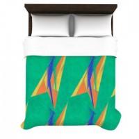 """Alison Coxon """"Deco Art"""" Duvet Cover   KESS InHouse"""