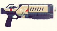 Illustrations of Epic Video Game Weapons by Justin Mezzell - What an ART