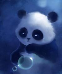 deviantART Shop Framed Wall Art Prints & Canvas | Digital Art | Paintings & Airbrushing | panda by artist *Apofiss