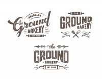 THE GROUND BAKERY - logo design on