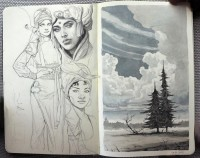 Moleskine and Hyperrealist Art › Illusion