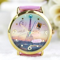 [grhmf215000021]Fashion Princess Eiffel Tower Watch