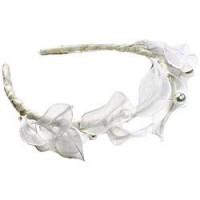 "Amanda Pearl ""Athena"" Headband | InsideWeddings.com"