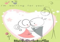 I m waiting for you - Sweet Love Quotes for her and him