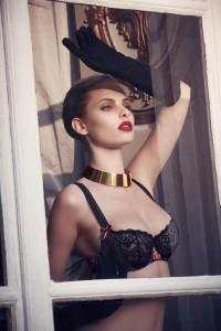 Dioni Tabbers x Aubade lingerie fall 2013 @ ShockBlast