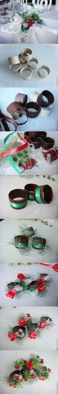 DIY Toilet Roll Custom Napkin Rings DIY Projects | UsefulDIY.com