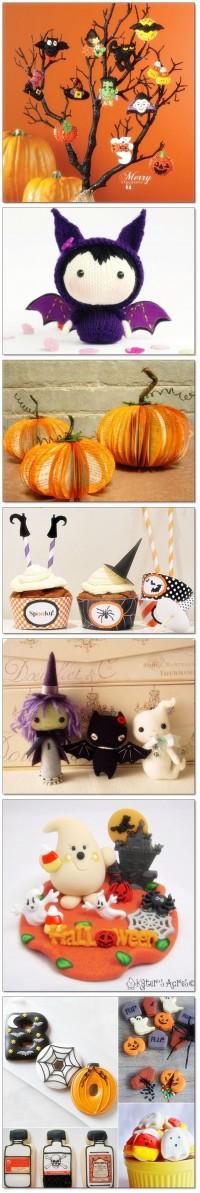 Halloween cute decoration