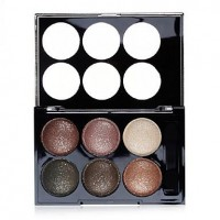 Sample Shimmer Powder 6 Colors Eye Shadow - makeupsuperdeal.com