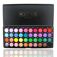 Wales - Beautiful 40 Colors Eye Shadow Palette - makeupsuperdeal.com