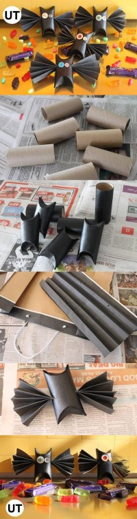 DIY Toilet Tube Bats Tutorial DIY Projects | UsefulDIY.com