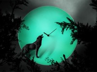 Moon Clock by Haoshi Design
