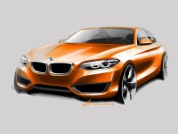 BMW 2 Series Coupe - Design Sketch - Car Body Design