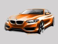 BMW 2 Series Coupe - Design Sketch - Car Body Design
