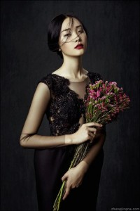 Phuong My FW13/14 Collection: Flowers in December on