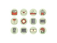 Flat icons by Kemal ?anl?