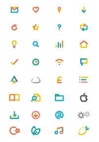 3 fish brand identity / 3 fish icons — Designspiration