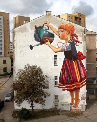 Street Art by Natalia Rak » Design You Trust