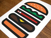 Dribbble - Burger by Aaron Eiland — Designspiration