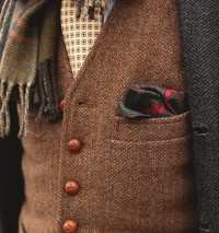 autumn : mix of colour and pattern | Tweed Ride MSP