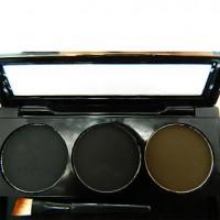 3 Colors Pretty Eyebrow Powder - makeupsuperdeal.com