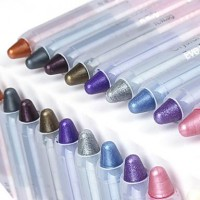 10pcs - Colorful Eye Shadow Pen Set - makeupsuperdeal.com