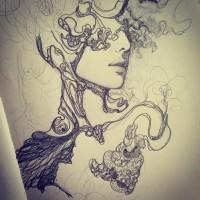 Amazing sketch drawings by Sooj Mitton   koikoikoi