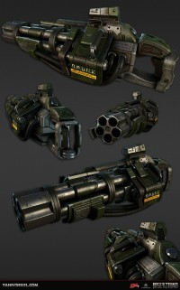 Rise of the Triad 2013 art dump - Polycount Forum