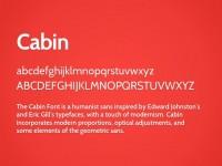 Cabin Free Font - FreebiesXpress