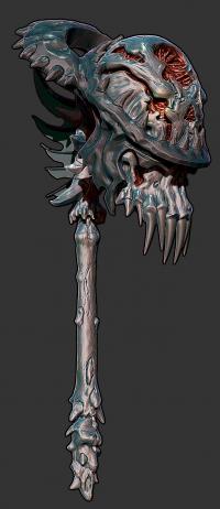 elf sculpt | Anthony Scarlata - 3D Artist