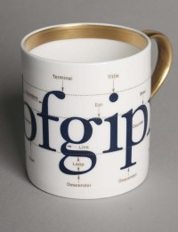 Tableware For Type Lovers - DesignTAXI.com