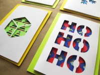 Infinite Diecut Christmas Card Set of 4 by EpicLayers on Etsy