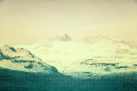 Fade of mountains Art Print by p photography | Society6