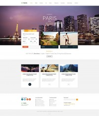 Travel Agency - Multipurpose Booking PSD Template - ThemeForest Previewer
