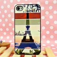 shego shopping mall — Cool Colourful Eiffel Tower Hard Cover Case For Iphone 4/4s