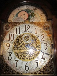 File:W & H Sch grandfather clock face 1.JPG - Wikimedia Commons