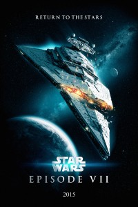 Star Wars 7 Poster on
